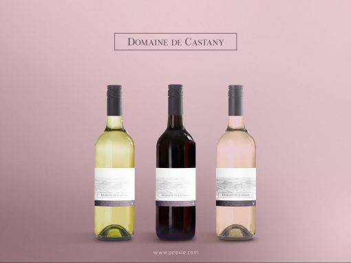 Domaine de Castany – Etiquettes